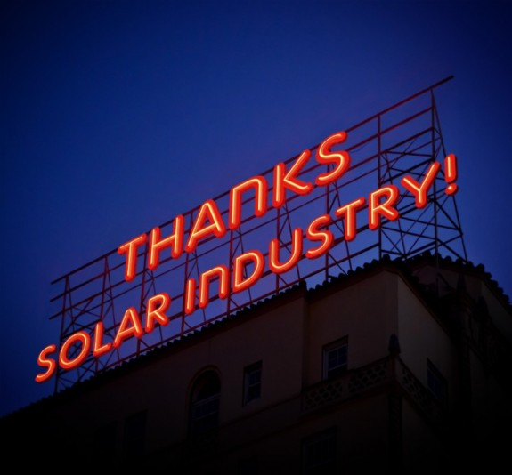 Thanks Solar Industry 2